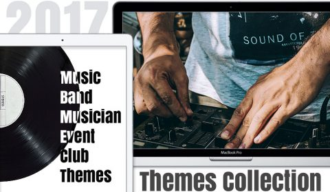 Best Themes for Music, Band, Musician, Event, Club and Agency