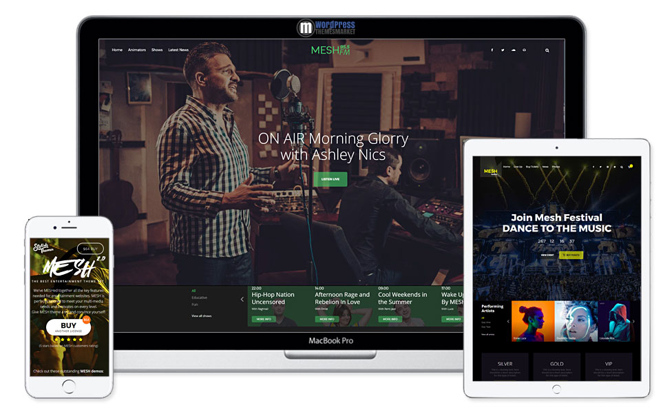 6 Best WordPress Themes for Music, Band, Musician, Event, Club and ...