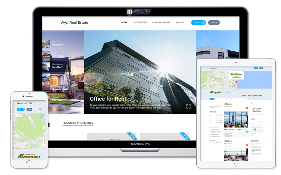 Wyzi - Multi-purpose WordPress Directory Listing Theme
