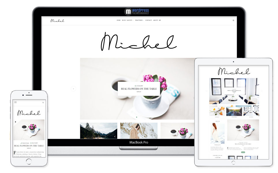 Michel - Clean WordPress Blog Theme