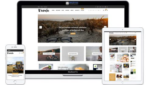 Vanda - Creative Blog / Magazine WordPress Theme