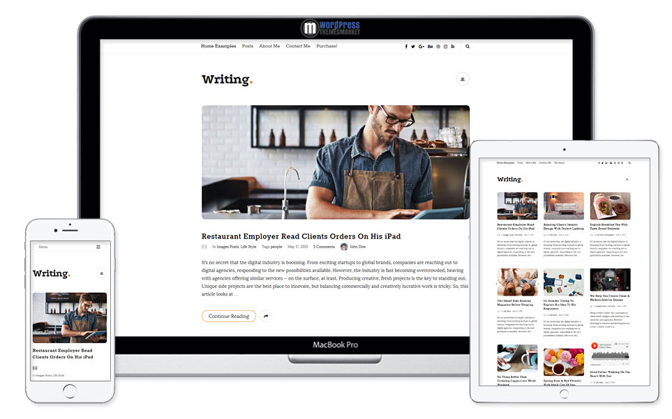 Writing A Personal WordPress Blog Theme