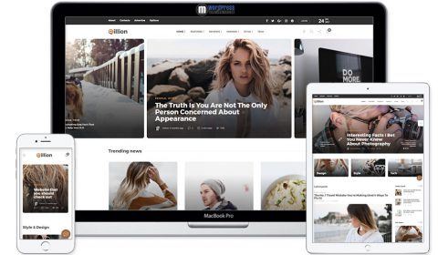 Gillion Multi-Concept Blog/Magazine Theme