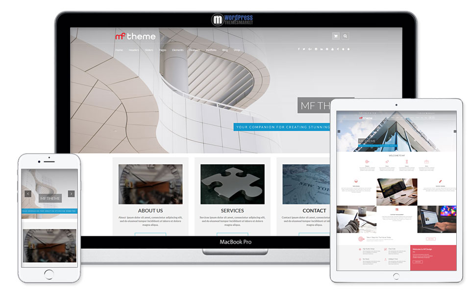 MF - Premium WordPress Theme