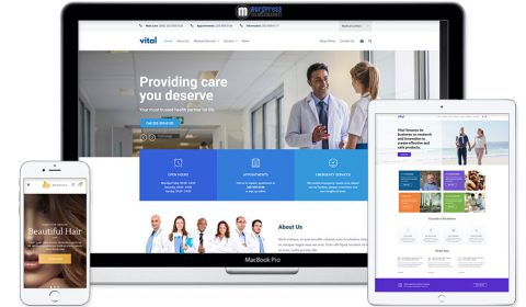 Vital | Health, Medical and Wellness WordPress Theme