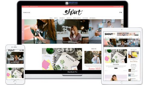 Shout - Blogging WordPress Theme